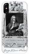 George Frideric Handel, German Baroque IPhone Case