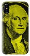 George Washington In Yellow IPhone Case