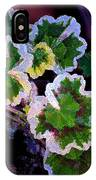 Geranium 6 IPhone Case