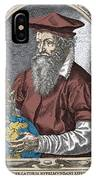 Gerardus Mercator, Flemish Cartographer IPhone Case