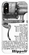 German Revolver, 1880 IPhone Case