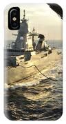 German Sachsen-class Frigate Hessen IPhone Case