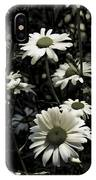 Ghostly Daisies IPhone Case