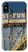 Giant Fun Fair IPhone Case