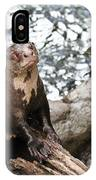 Giant River Otter IPhone Case