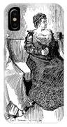 Drawings, 1900 IPhone Case