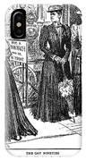 Gibson Girl, 1890s IPhone Case