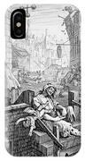 Gin Lane, William Hogarth IPhone Case
