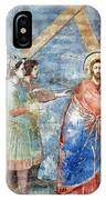 Giotto: Road To Calvary IPhone Case