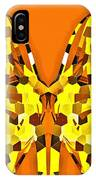 Giraffe-dragons IPhone Case