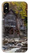 Glade Creek Grist Mill II IPhone Case