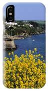 Glandore Village & Harbour, Co Cork IPhone Case