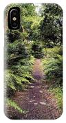 Glanleam, Co Kerry, Ireland Path In The IPhone Case