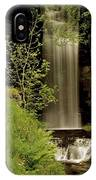 Glencar Waterfall, County Leitrim IPhone Case