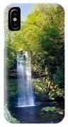Glencar Waterfall, County Sligo IPhone Case