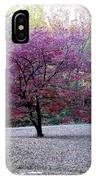 Glenna's Dogwood In The Fall IPhone Case