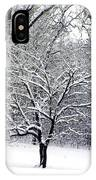 Glenna's Dogwood In The Snow IPhone Case