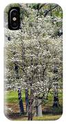 Glenna's Dogwood In The Spring IPhone Case