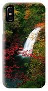 Glenoe Waterfall And Glen, Co Antrim IPhone Case