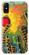 Glimmer Of Hope By Madart IPhone Case