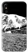 Glorious Mount Rainier  IPhone Case