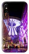 Glowing Sony Center IPhone Case