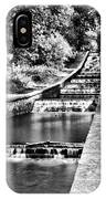 Gnoll Country Park 4 Mono IPhone Case