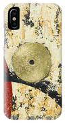 Gold And Silver 1 IPhone Case