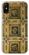 Gold Cathedral Ceiling Italy IPhone Case