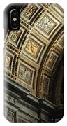 Gold Inlay Arches St. Peter's Basillica IPhone Case