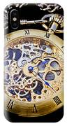 Gold Pocket Watch IPhone Case