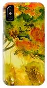 Golden Autumn Day IPhone Case