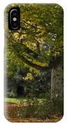 Golden Cappadocian Maple. IPhone Case