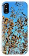 Golden Crepe Myrtle Seeds IPhone Case