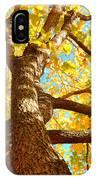Golden Green IPhone Case