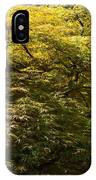 Golden Japanese Maple IPhone Case