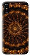 Golden Mandala 1 IPhone Case