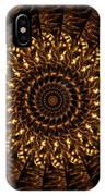 Golden Mandala 3 IPhone Case
