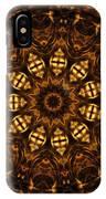 Golden Mandala 6 IPhone Case