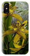Golden Orchid IPhone Case