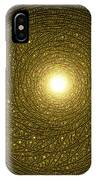Golden Rays IPhone Case
