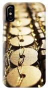 Golden Sequins Highway IPhone Case