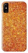 Golden Sequins Web IPhone Case