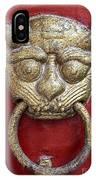 Golden Temple Door Knocker  IPhone Case