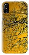 Golden Walnut Tree IPhone Case