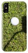 Golf Ball And Shadow IPhone Case