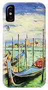 Gondolla Venice IPhone Case