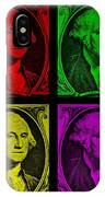 Gorge Washington In Colors IPhone Case