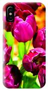 Gorgeous Tulips IPhone Case