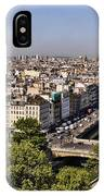 Gorgyle View Of Paris IPhone Case
